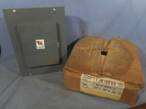 Nos Vtg General Switch Circuit Breaker Load Center 1 Ml 100 6d 100a Panel Box