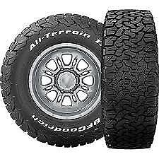 4 New Lt285 75 16 10 Ply Owl Bf Goodrich Bfg All Terrain T A Ko2 75r R16 Tire