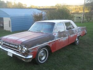 1965 Amc Rambler Classic 4 Door Manual 3 Speed 6cyl