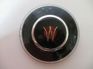 Vintage 1950s Willys Jeepster Jeep Steering Wheel Horn Button Plastic