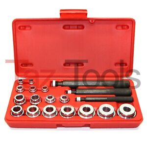 20 Pc Bushing Seal Installer Remover Bearing Race Set Driver Tool Kit Automotive
