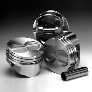 Speed Pro Flat Top Pistons For Small Block Chevy 350 4 000 Bore