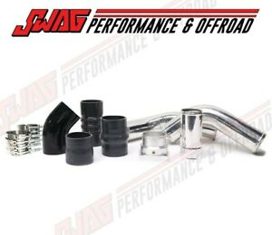 11 16 6 7l Powerstroke Hot Cold Side Intercooler Pipe Kit W Mishimoto Clamps