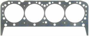 Two 2 Fel Pro Head Gaskets Composition Type 4 080 Bore 039 Comp Sbc