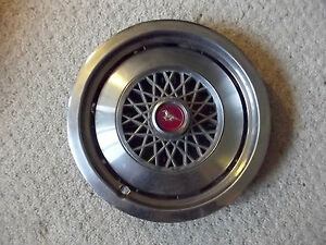 74 75 76 77 78 Ford Mustang Wire Type Hubcap Oem 13