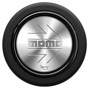 Momo Silver Polish Steering Wheel Horn Button Sport Competition Tuning 59mm