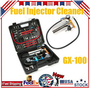 Petrol Car Auto Fuel System Injector Tester Cleaner Non Dismantle Cleaning Tool