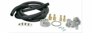 Perma cool Single Oil Filter Relocation Kit 22 X 1 5mm Thd