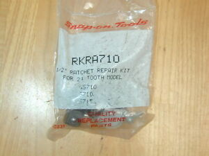 Snap On Tool Rkra710 Ratchet 1 2 Dr 24 Tooth Repair Kit Parts S715 Sl710 Gs710