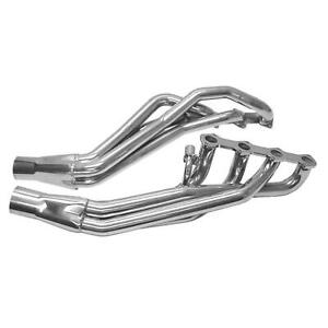 Pacesetter Quicktrip Long Tube Headers Silver Ceramic Coated 1 3 4 Tubes 72c2226