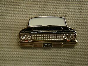 Black 1963 Chevrolet Hat Pin Impala Pin 63 Biscayne Pin 63 Wagon 63 Convertible