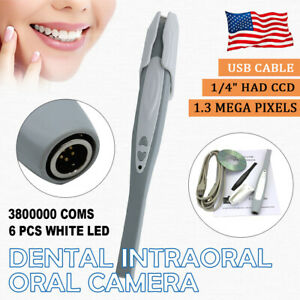 1 3 Mega Usb Dental Intraoral Oral Camera Intra Oral 1 4 Digital 50 Sleeves Usa