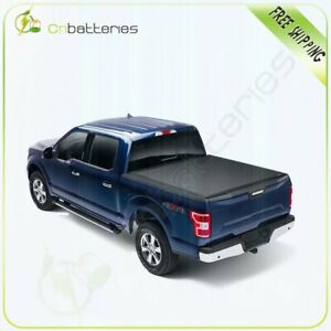 Soft Tri Fold For 2019 2020 Ford Ranger 5 Ft Tonneau Cover Short Bed Waterproof