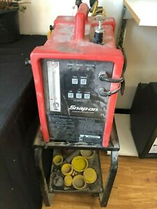Snap On Evaporative Emissions Tester Eeld302b With Cart And Empty Tank