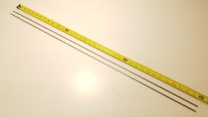 304 Stainless Steel 3 16 Round 36 Long Bars Rods 2 Pack