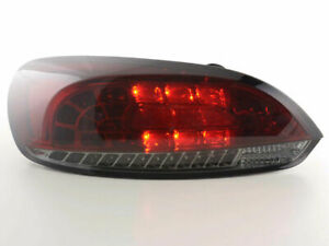 Vw Scirocco Smoked Led Tail Lights Rear Lamps 2008 2014 Model