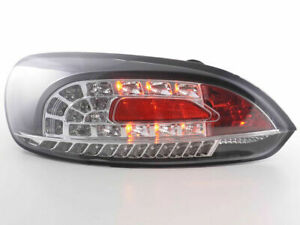 Vw Scirocco Black Led Tail Lights Rear Lamps 2008 2014 Model