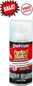 Duplicolor Perfect Match Clear Top Coat Aerosol Spray Car Paint Bcl0125