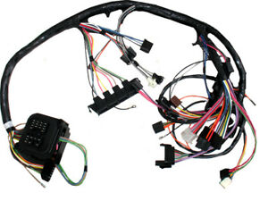 69 Camaro Dash Wiring Harness Manual Transmission Console Shift W Factory Gauges