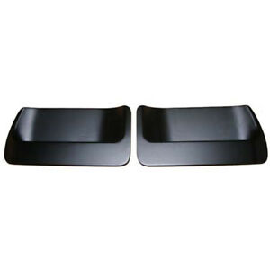 1971 1973 Mustang Dual Scoop Inserts For Naca Style Hood Golden Star