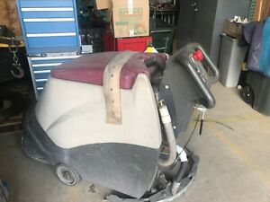 Minuteman Mc20000qp Floor Scrubber For Parts Only