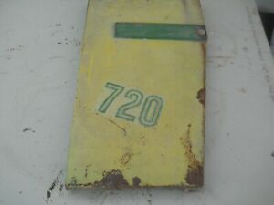 John Deere 720 Tractor Lh Grill Panel Hard To Find
