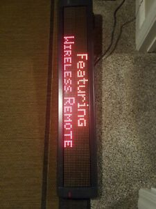 Led Animated Sign Programmable Emc 4120c120 48 Inch Led Business Sign