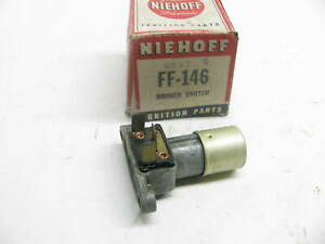 Niehoff Ff 146 Floor Mounted Headlight Dimmer Switch Ford Lincoln Mercury