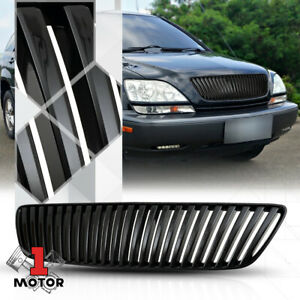 For 1999 2003 Lexus Rx300 Vertical Bar Black Abs Front Bumper Grille Grill