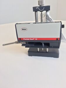New Mahr Pocket Surf Iv surface Finish Profilometer With Stand