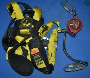 Miller Scorpion Lifeline Guardian Fall Protection Halo Safety Harness Pfl 4 z7