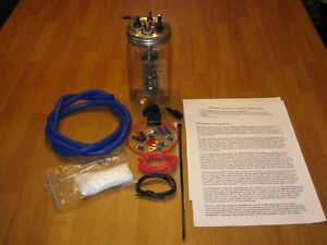 Hho 1 Cell Hydrogen Generator With Kit For 4 6 And 8 Cyl Gas And Diesel Engine