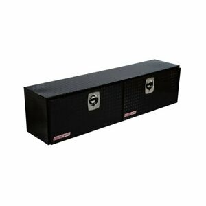 Weather Guard 372 5 02 High side Truck Tool Box Black Aluminum 8 9 Cb ft
