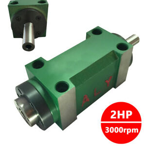 2hp 3000rpm Drilling Spindle Unit Mt2 Power Head 5bearing Cnc Milling Machine