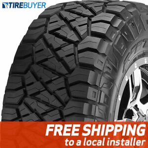 2 New 33x12 50r17 E Nitto Ridge Grappler 33x1250 17 Tires