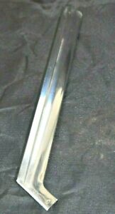 Ford 1960 Starliner Windshield Trim Molding Pass Side Right Mid Vertical Chrome