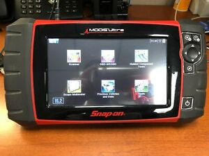 Snap On Modis Ultra Eems328 Diagnostic Scanner Obdii With Case 16 2