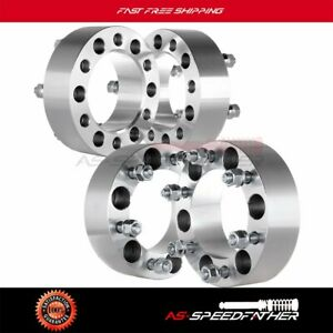 4x 2 Thick 6x 5 5 Wheel Spacers 12x1 5 Studs For Toyota Tacoma 1995 2012