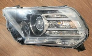 2013 2014 Ford Mustang Gt Headlight Lh Left Side For Parts Or Repair Ford Oem