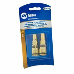 Miller D ma250m Acculock S Diffuser For Mdx 250 Mig Guns 2 pk
