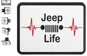 Jeep Life Trailer Hitch Cover Custom Trailer Hitch Cover For 2 Receiver