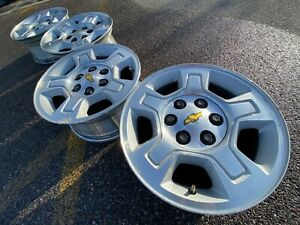 17 Chevy Chevrolet Tahoe Silverado Oem Factory Avalanche Stock Wheels Rims Gmc