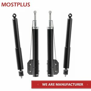 4x Shocks Struts Front Rear For Ford Mustang Cid Convertible Coupe Rwd
