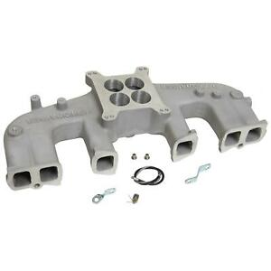 Offenhauser Dual Port Intake Manifold Amc Straight Six 232 258 Fits Stock Heads