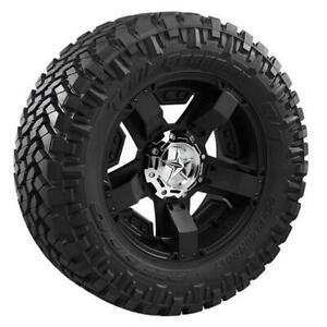 Pair 2 Nitto Trail Grappler M t Tires 295 70 18 Radial Blackwall 205780