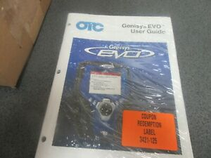 New Otc Genisys Evo User Guide Domestic asian System pn 3421 125