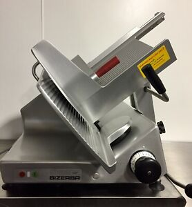 Bizerba Gsp h 2016 Manual Meat Cheese Deli Slicer W Sharpener Fully Refurbished