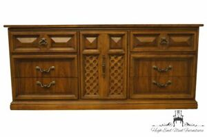Dixie Furniture Casa Bonita Collection Mediterranean 70 Triple Door Dresser