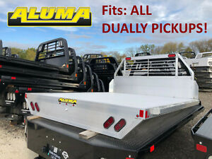 Aluma Aluminum Flatbed Replacement Truck Bed Aluma Fits All Dually Pickups