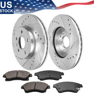 Brake Rotors Ceramic Pads Front For 2012 2015 Sonic 2011 2016 Chevy Cruze